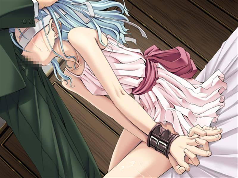 【な~んだ?】目隠しした女の子にチンポ咥えさせてる目隠しフェラの二次エロ画像【8】