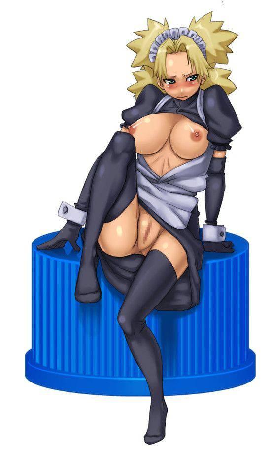 【NARUTO】テマリのエロ画像【3】