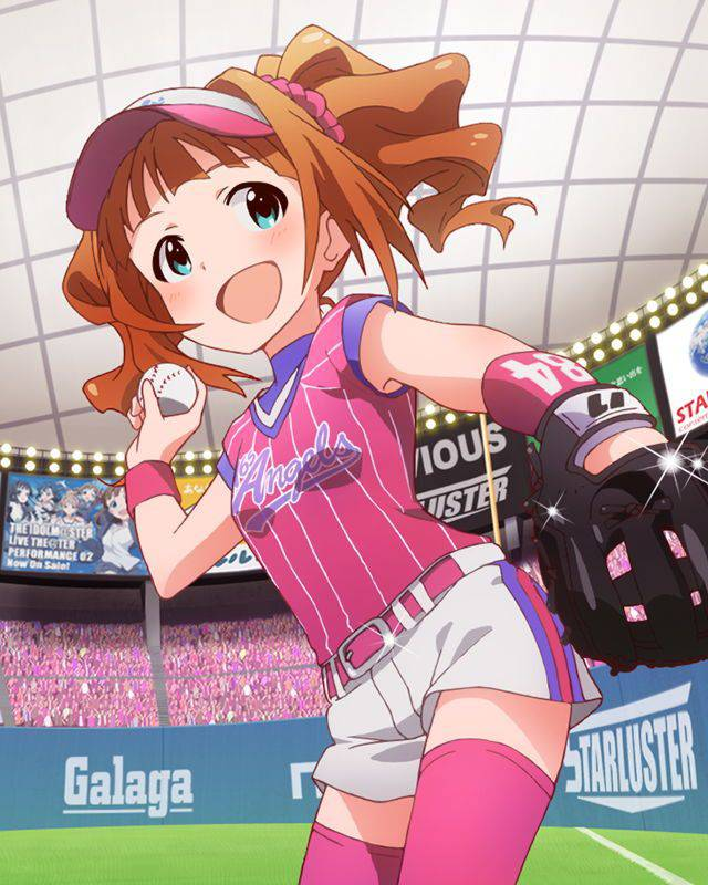 【棒を握ったり】野球・ソフトボールをやってる女の子のエロ画像【玉を掴んだり】【6】