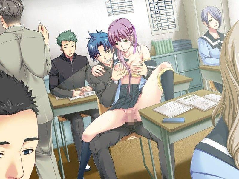 【二科目同時受講】セックスしながら授業を受けてる二次エロ画像【2】