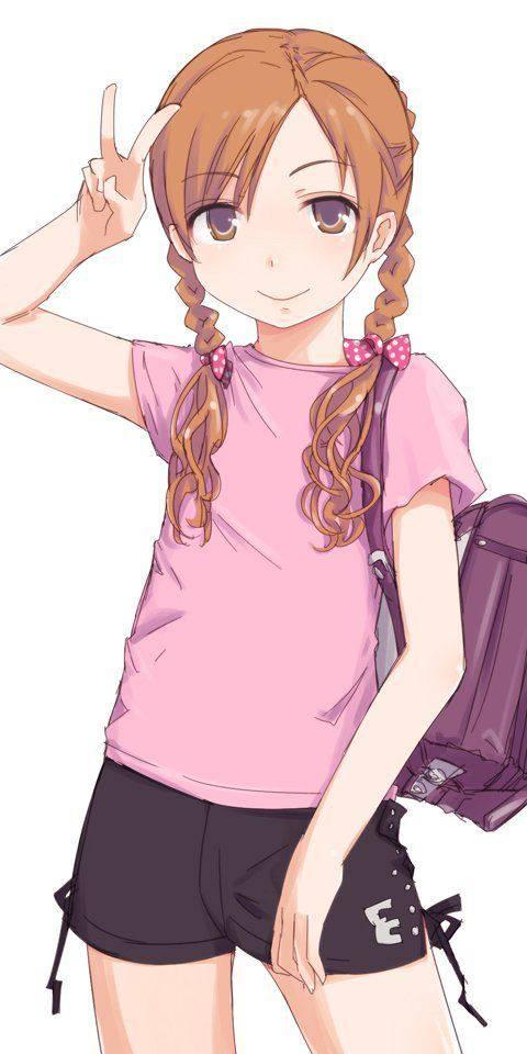 【太ももアピール】夏なのでショートパンツを履く女子達の二次エロ画像【16】