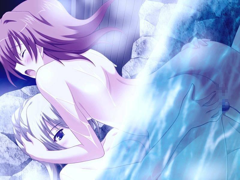 【迷惑客】温泉の露天風呂でセックスしてるカップル達の二次エロ画像【26】