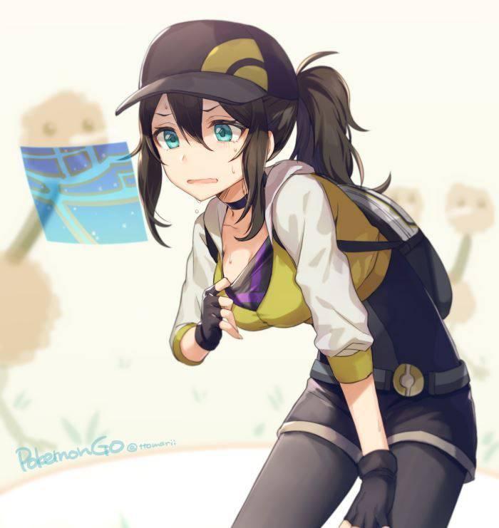 【ポケモンGO】女トレーナーやチームリーダーのエロ画像【祝・レイドバトル解禁】【3】