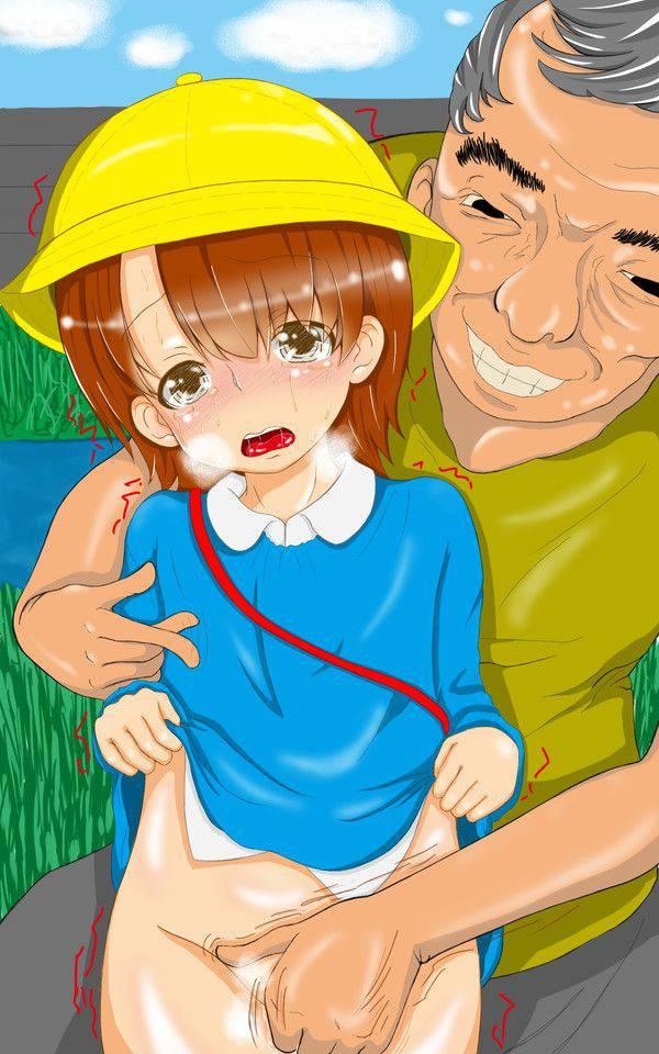 【まじかよ・・・】幼稚園児位の子を犯してるアブない二次ロリ画像【11】