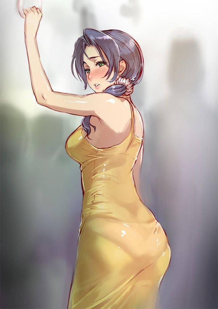 【パンティーライン】ラッパーじゃなくても気になる女子のパンツ線二次エロ画像【4】