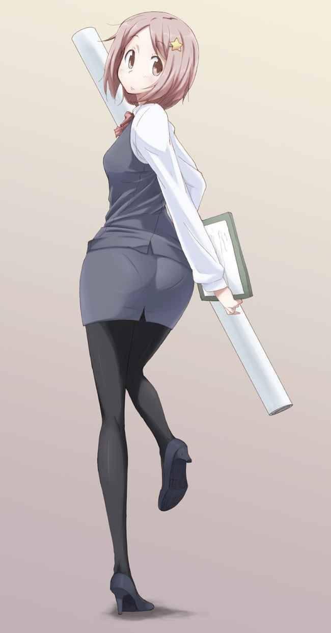 【パンティーライン】ラッパーじゃなくても気になる女子のパンツ線二次エロ画像【8】