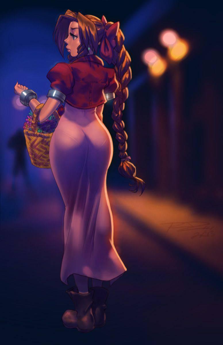 【パンティーライン】ラッパーじゃなくても気になる女子のパンツ線二次エロ画像【20】