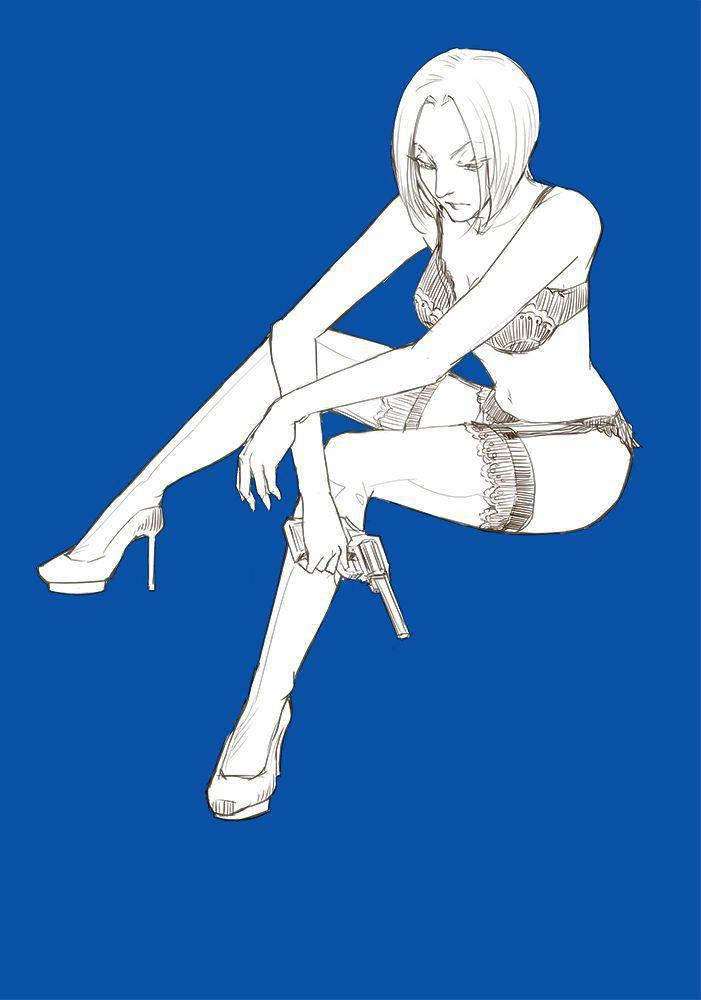【HUNTER×HUNTER】パクノダのエロ画像【ハンターハンター】【10】
