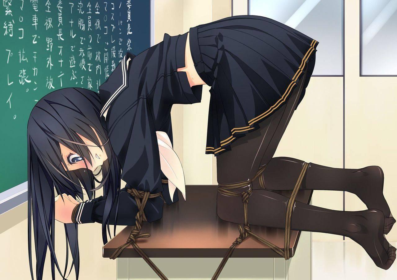 【解体ショー直前】台やベッドの上に拘束されてる二次エロ画像【1】