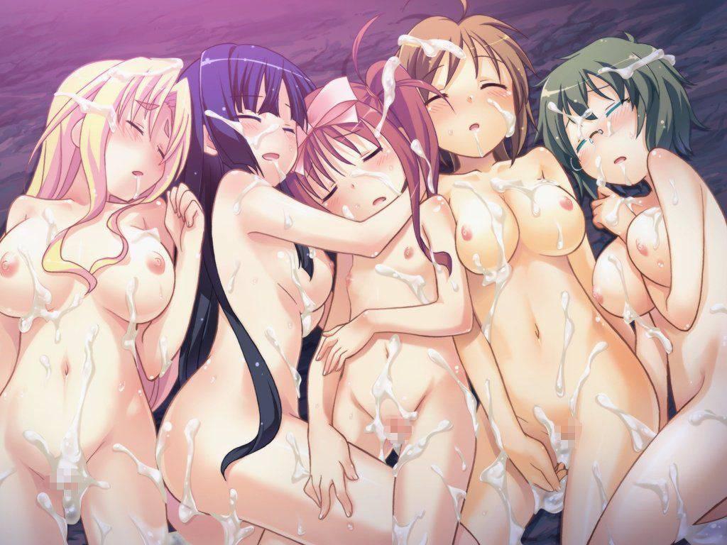 【祭りの後】3人以上の女性とハーレムセックスを楽しんだ事後二次エロ画像【2】