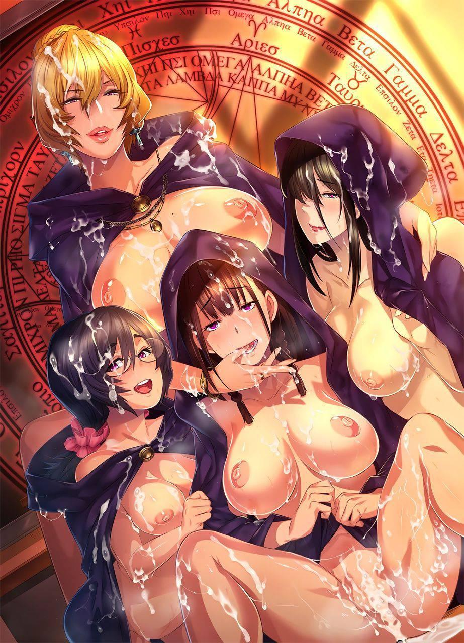 【祭りの後】3人以上の女性とハーレムセックスを楽しんだ事後二次エロ画像【8】