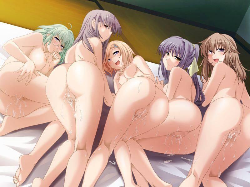 【祭りの後】3人以上の女性とハーレムセックスを楽しんだ事後二次エロ画像【36】