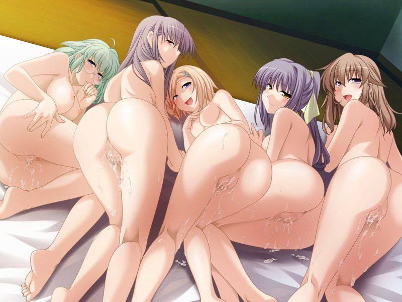 【祭りの後】3人以上の女性とハーレムセックスを楽しんだ事後二次エロ画像【37】