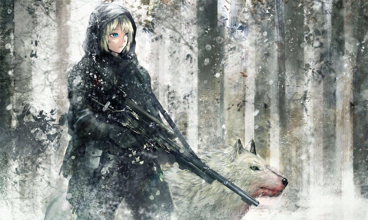 【名前は多分洋子】恐ろしく冷たい目をした銀髪の二次エロ画像【26】