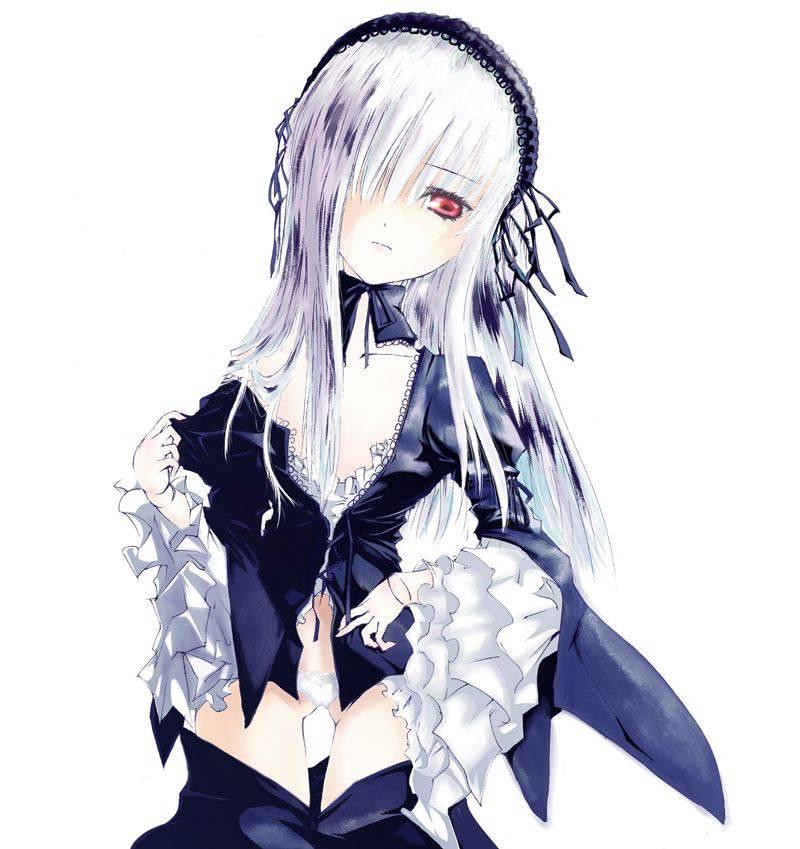 【名前は多分洋子】恐ろしく冷たい目をした銀髪の二次エロ画像【34】