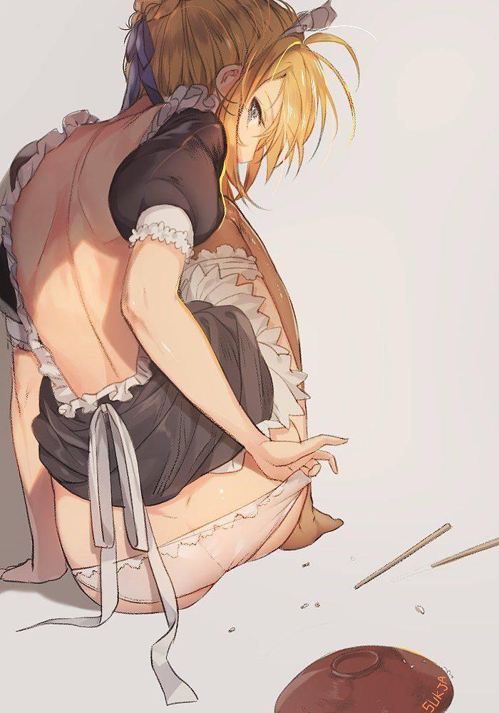 【背中フェチ向け】肩甲骨がしっかり描かれてる二次エロ画像【19】