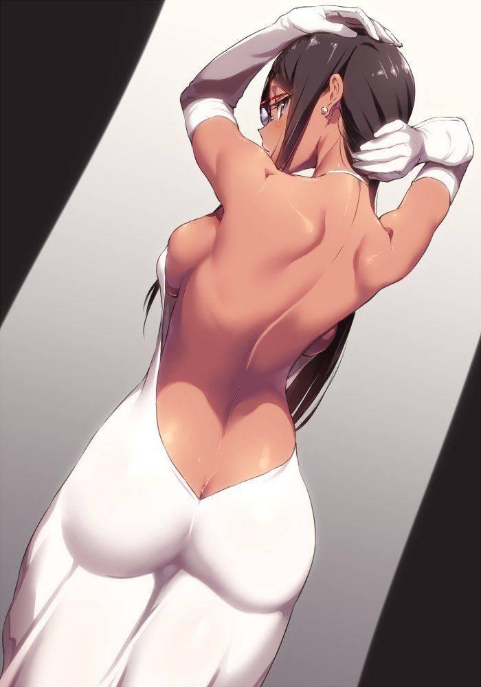 【背中フェチ向け】肩甲骨がしっかり描かれてる二次エロ画像【22】