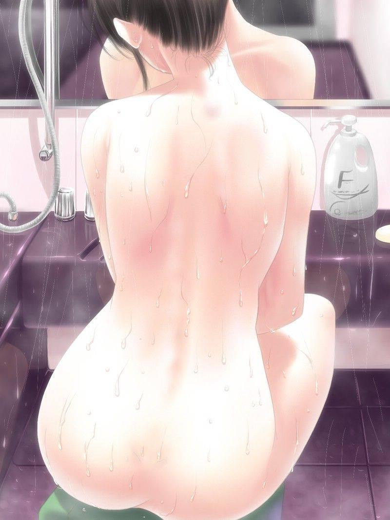 【背中フェチ向け】肩甲骨がしっかり描かれてる二次エロ画像【31】