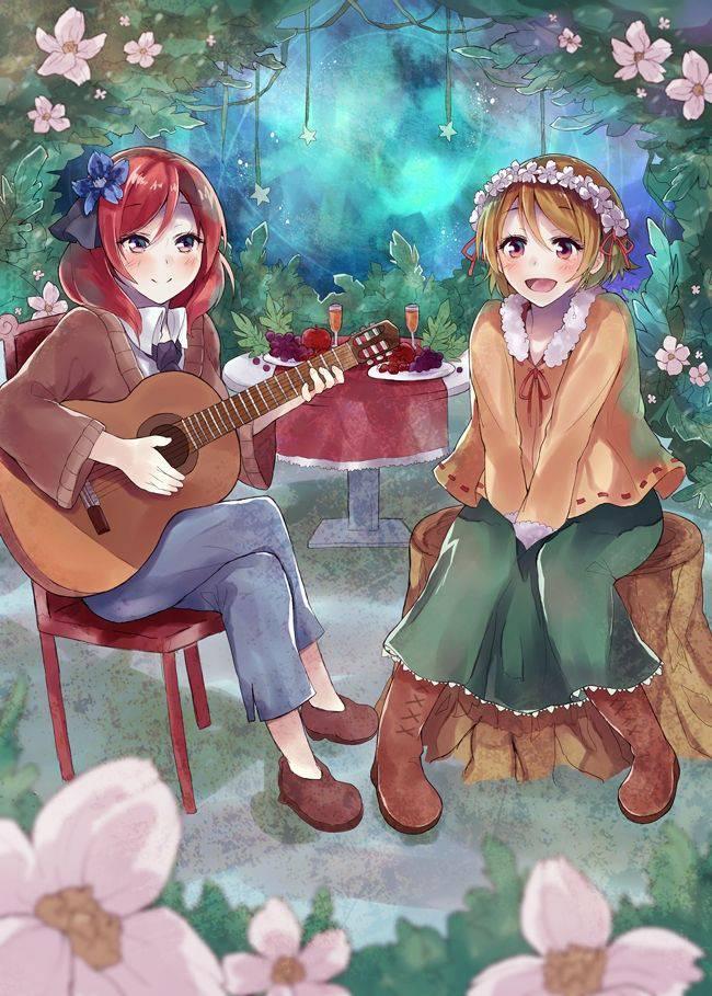 【サブカル好きそう】アコースティックギターと女の子の二次画像【3】