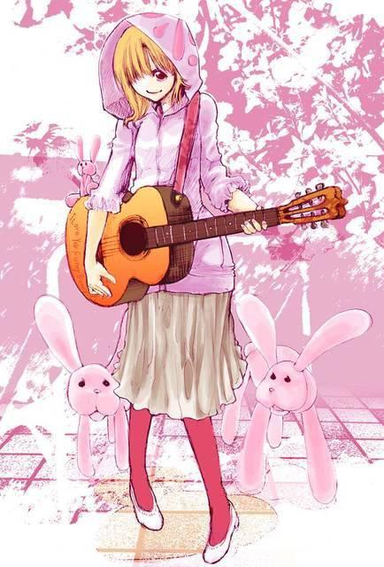 【サブカル好きそう】アコースティックギターと女の子の二次画像【11】