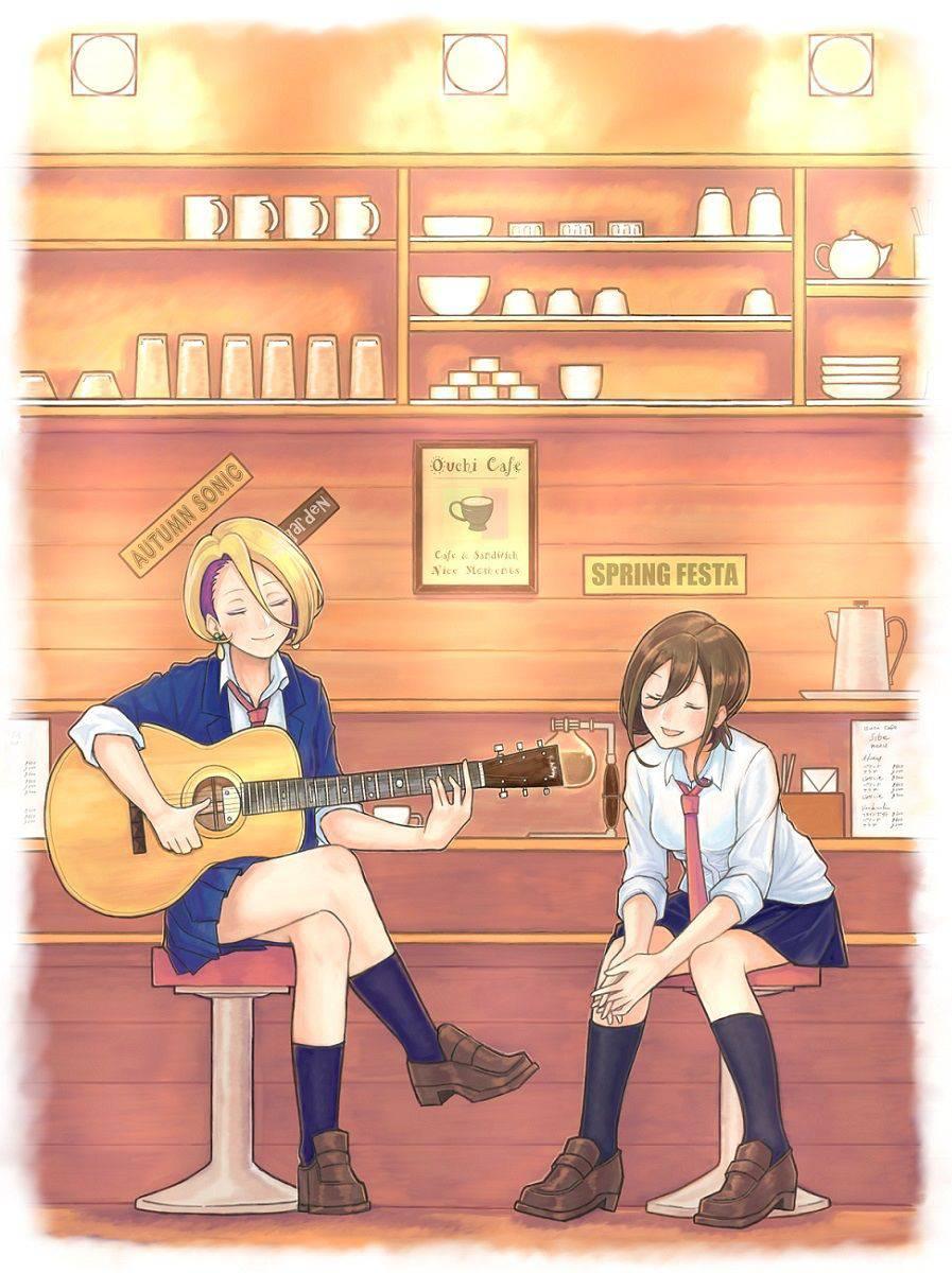 【サブカル好きそう】アコースティックギターと女の子の二次画像【22】
