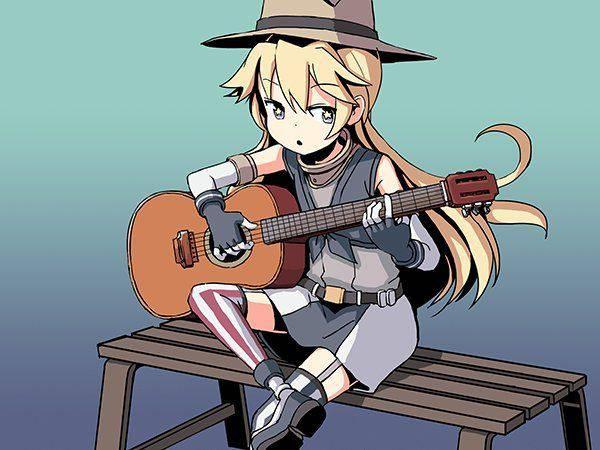 【サブカル好きそう】アコースティックギターと女の子の二次画像【27】