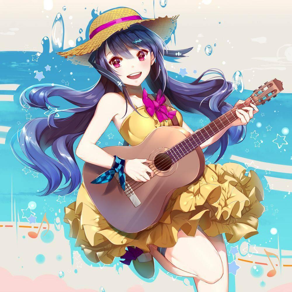 【サブカル好きそう】アコースティックギターと女の子の二次画像【28】