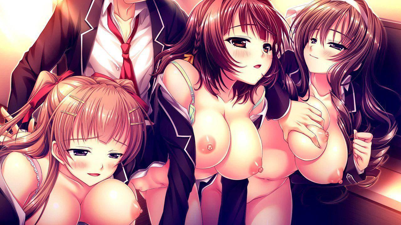 【欧米か!?】楽しそうに乱交・グループセックスしてる二次エロ画像【18】