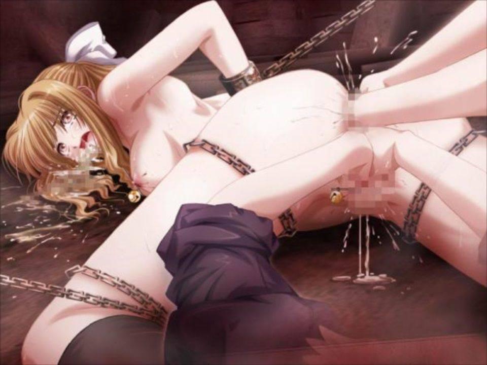 【痛そう】フィストファックされて悶絶してる二次エロ画像【28】