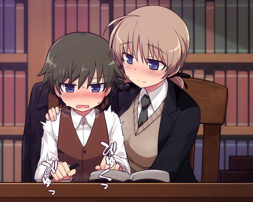 【おねショタ】誘惑してくるお姉さんと困り顔なショタっ子の二次エロ画像【4】