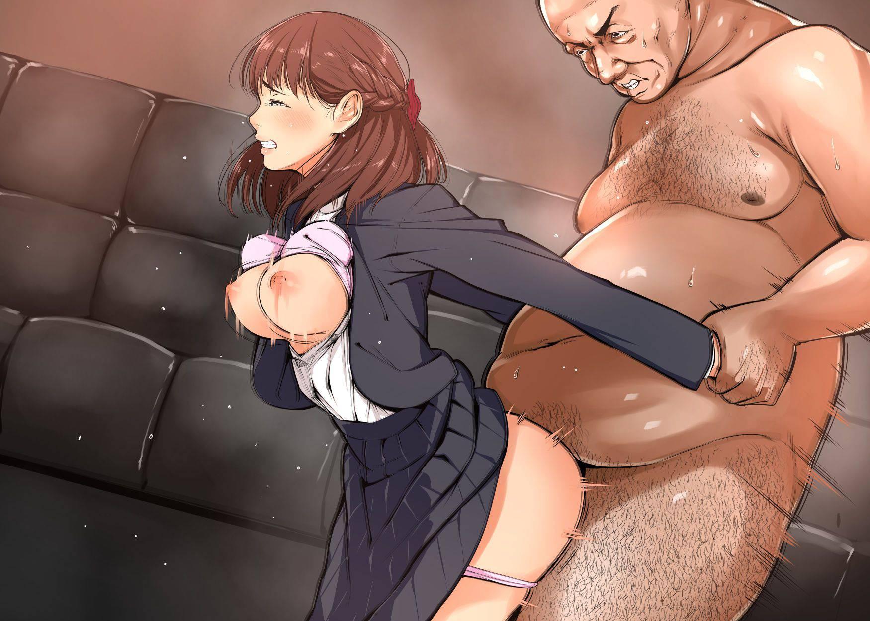 【乳揺れ】巨乳の女の子がバックで犯されオッパイがブルンブルンしてる二次エロ画像【30】