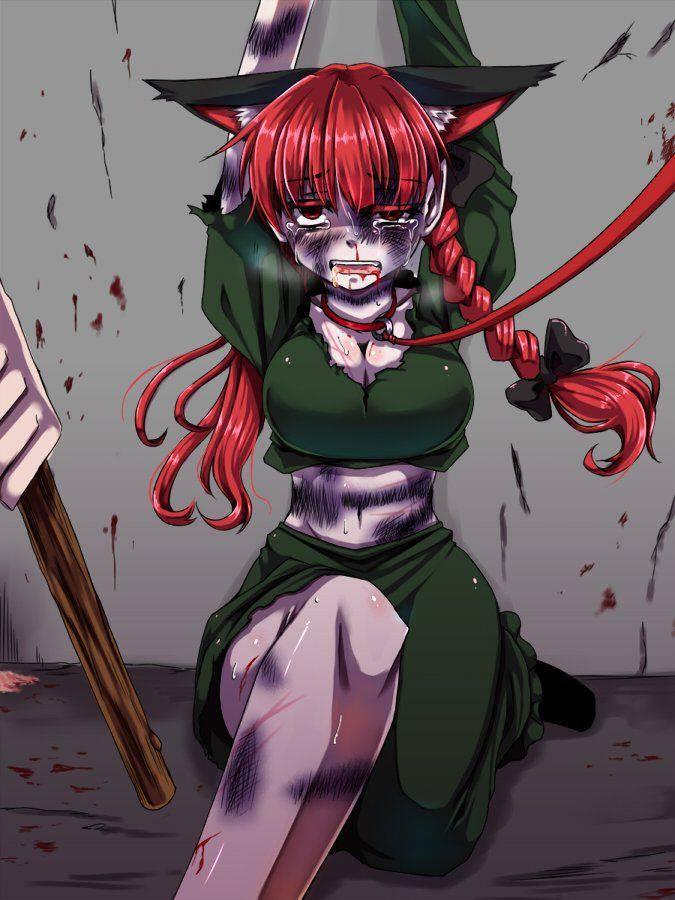 【喋ったら楽になれるよ?】敵に酷い拷問を受けてる女の子達の二次リョナ画像【25】