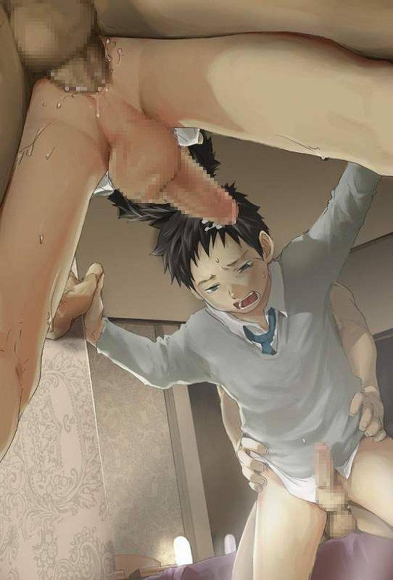 【童貞より先に処女喪失】ショタがアナルを犯されてる二次エロ画像【6】