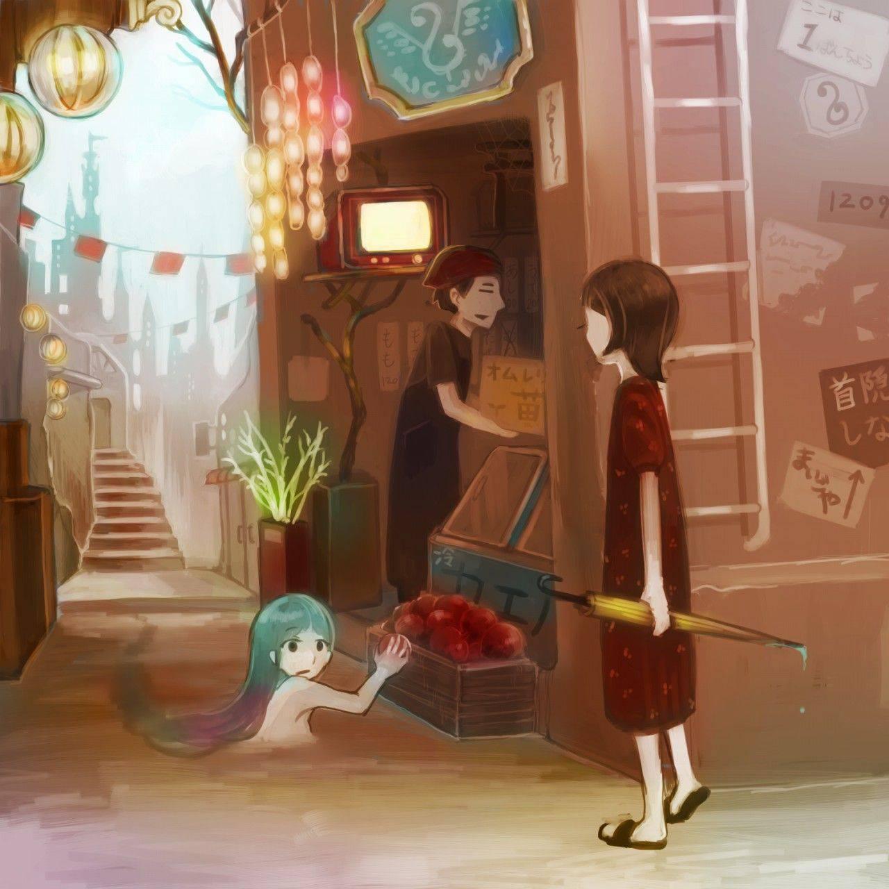 【お盆だから】幽霊女子達の二次エロ画像【八尺様もいるよ!】【18】