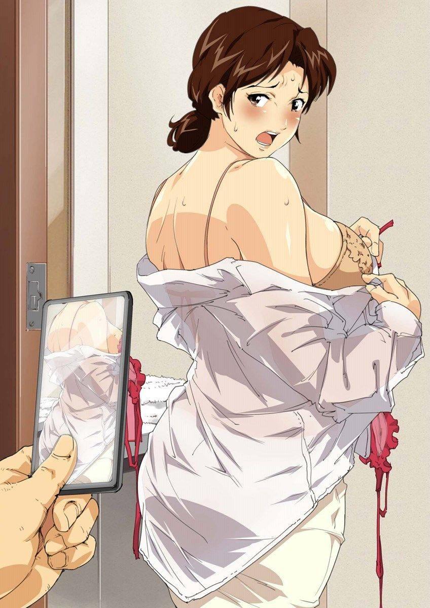 【生活感】ダサい・・・いや、生々しい下着を着けてる熟女・人妻の二次エロ画像【8】