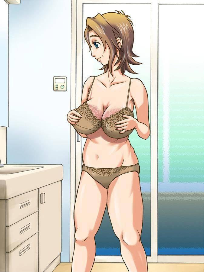 【生活感】ダサい・・・いや、生々しい下着を着けてる熟女・人妻の二次エロ画像【14】