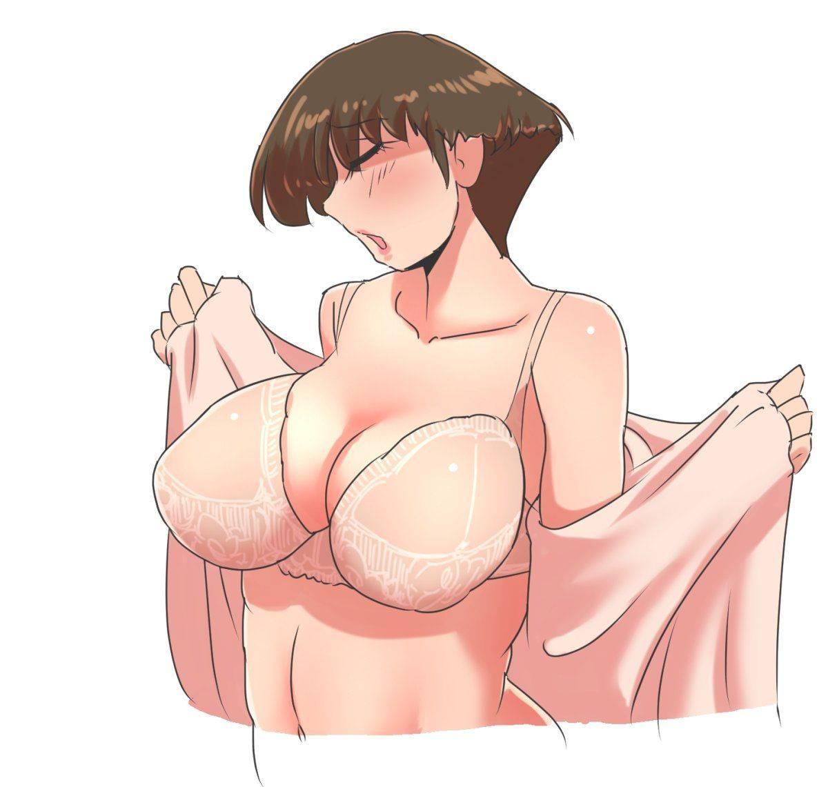 【生活感】ダサい・・・いや、生々しい下着を着けてる熟女・人妻の二次エロ画像【36】