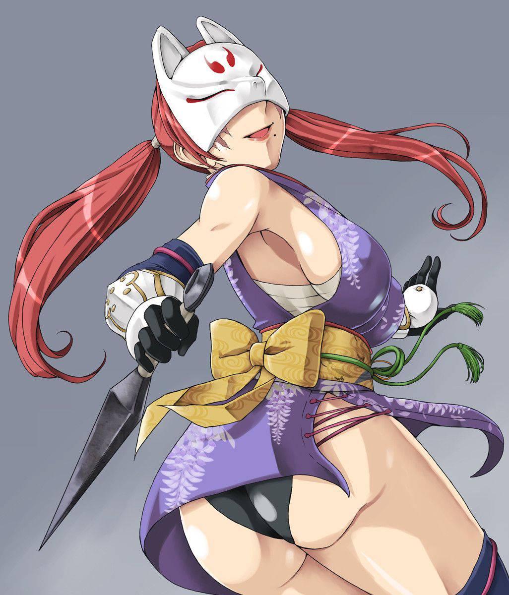 【くのいち】色仕掛けが上手そうな女忍者達の二次エロ画像【12】
