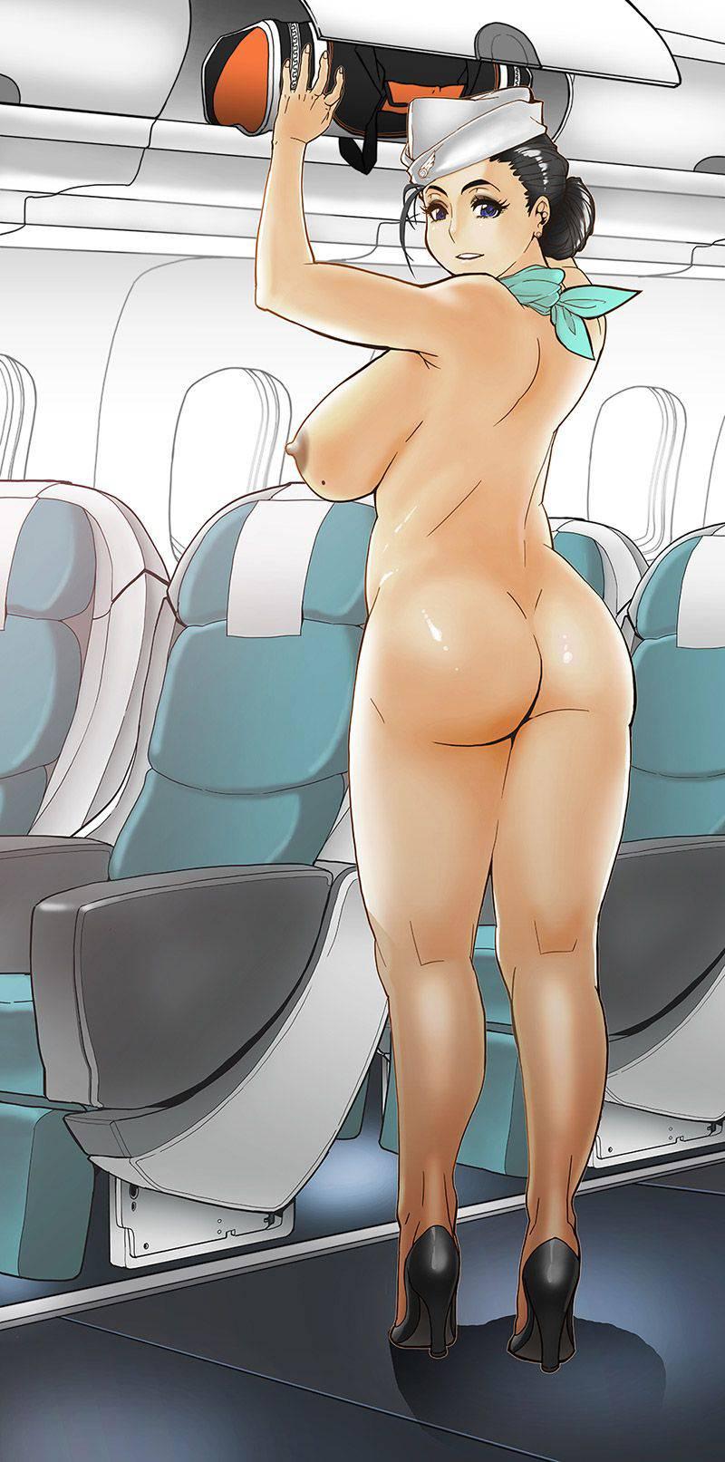 【ヌーディスト】恥じらい無く人前で全裸になってる二次野外露出画像【39】