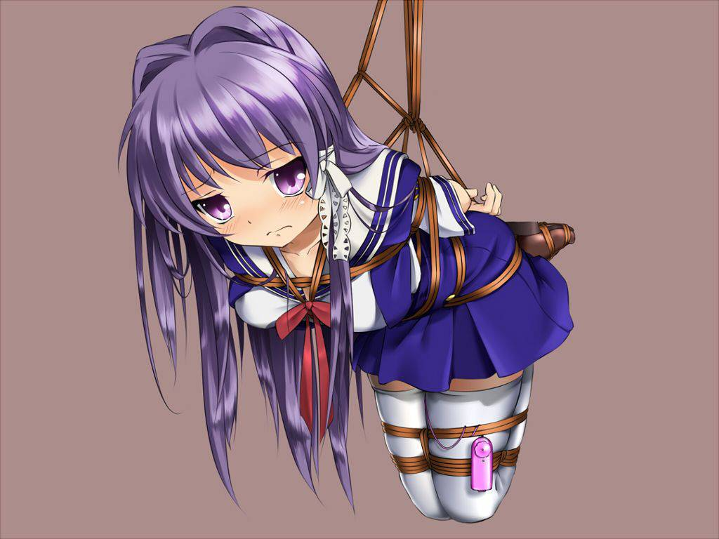 【おしょらをとんでりゅみちゃい】拘束され宙吊りになってる二次SMエロ画像【2】