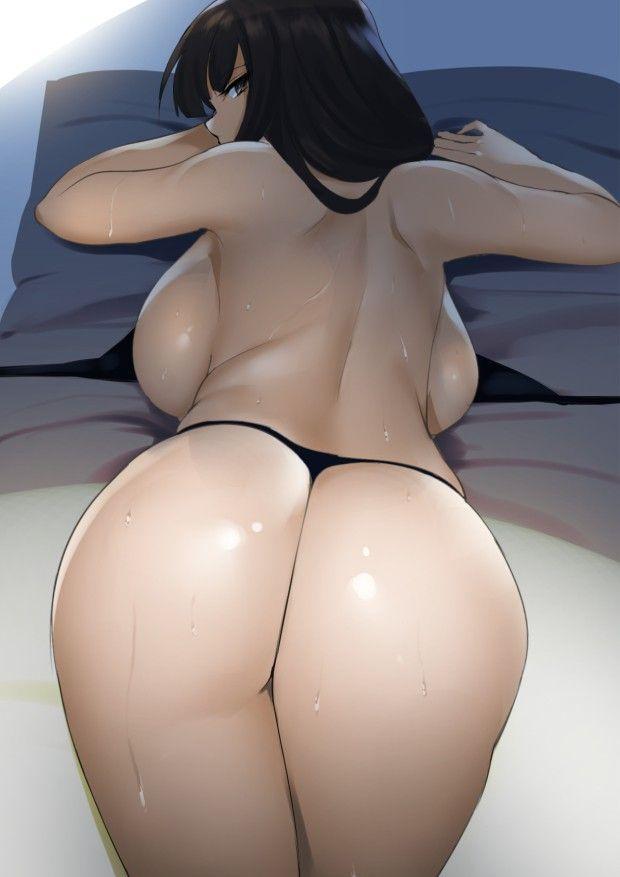 【色々したくなる】デカ尻女子がケツをこっちに向けてる二次エロ画像【28】