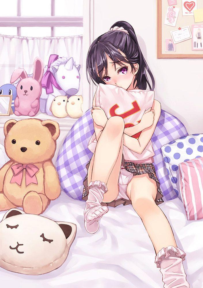 【今夜は寝かせないゾ】イエスノー枕でセクロスに誘ってる女子達の二次エロ画像【21】