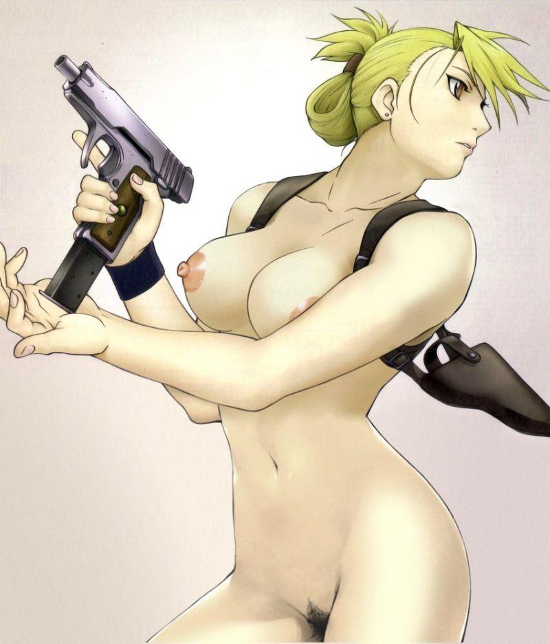 【鋼の錬金術師】リザ・ホークアイ中尉のエロ画像【45】