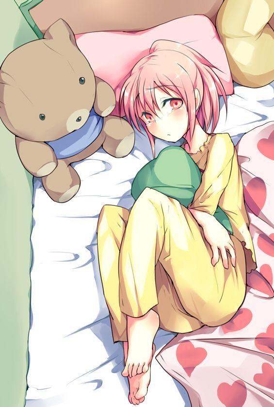 【育ち良さそう】パジャマをきちんと着てる女の子の二次画像【7】