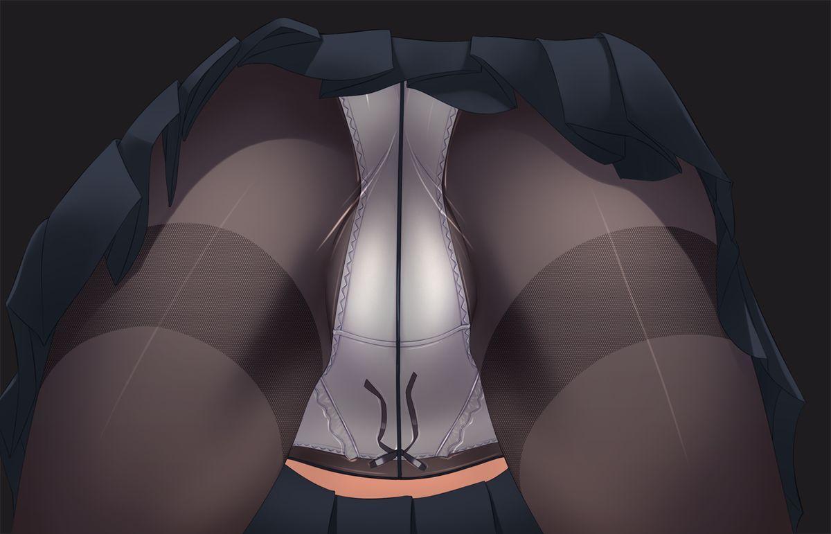 【接写】「俺は尻にしか興味が無い!」って方向け、お尻どアップの二次エロ画像【10】
