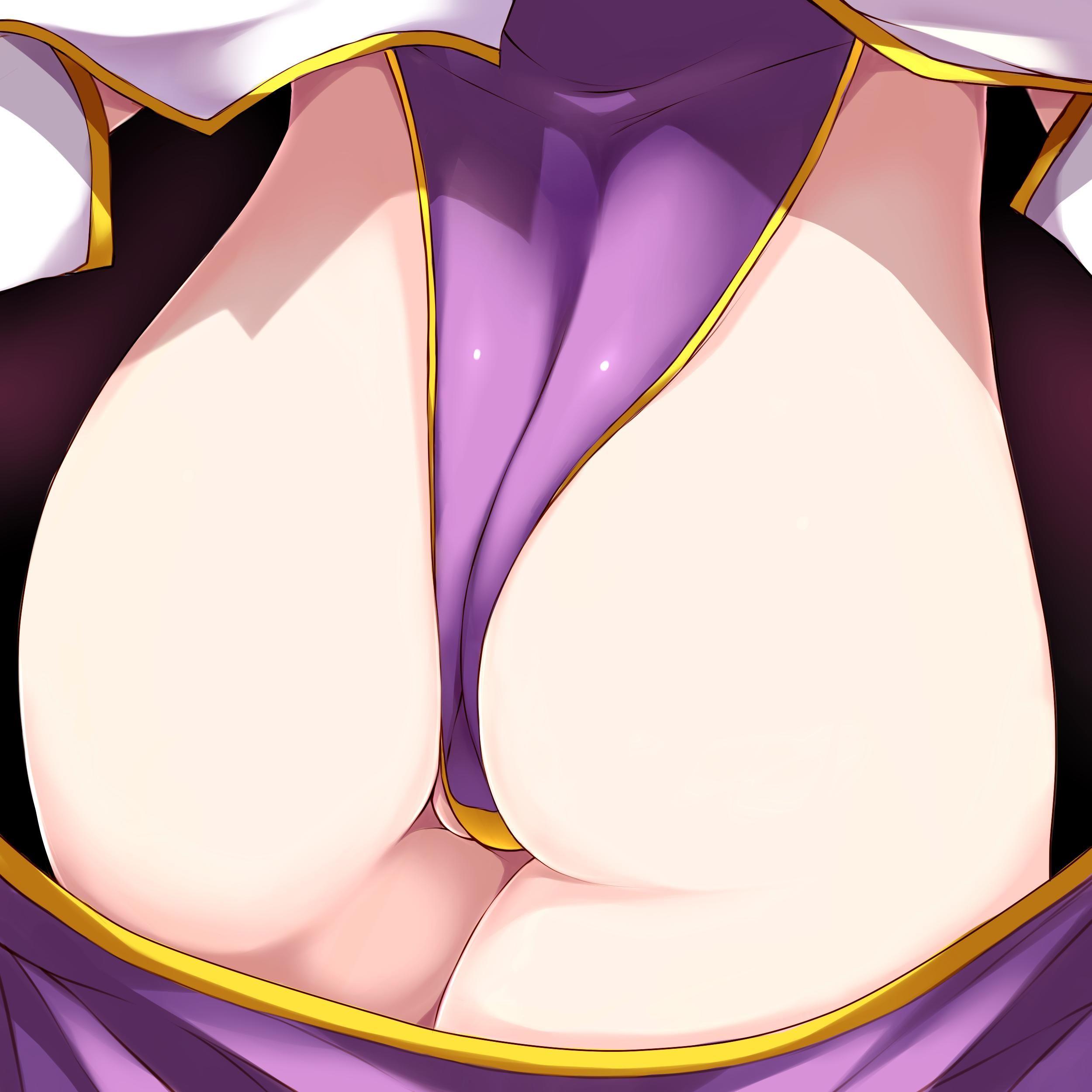 【接写】「俺は尻にしか興味が無い!」って方向け、お尻どアップの二次エロ画像【29】
