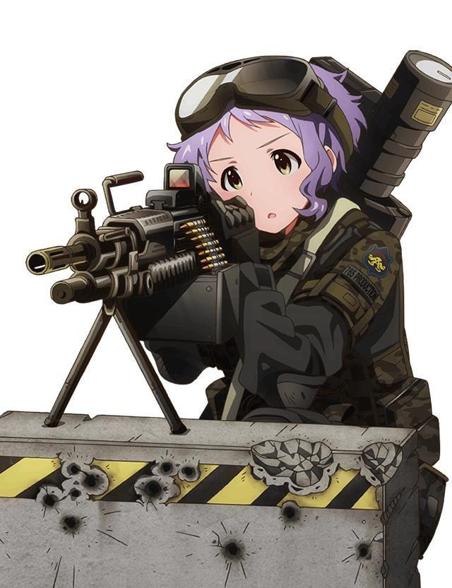 【空前のPUBGブーム】銃を持った女兵士・軍人さんの二次エロ画像【8】