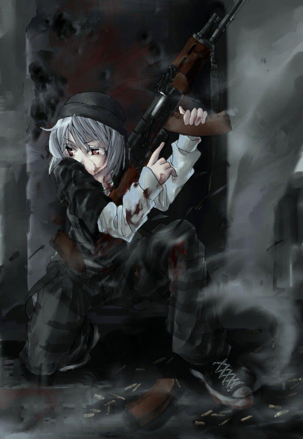 【空前のPUBGブーム】銃を持った女兵士・軍人さんの二次エロ画像【13】
