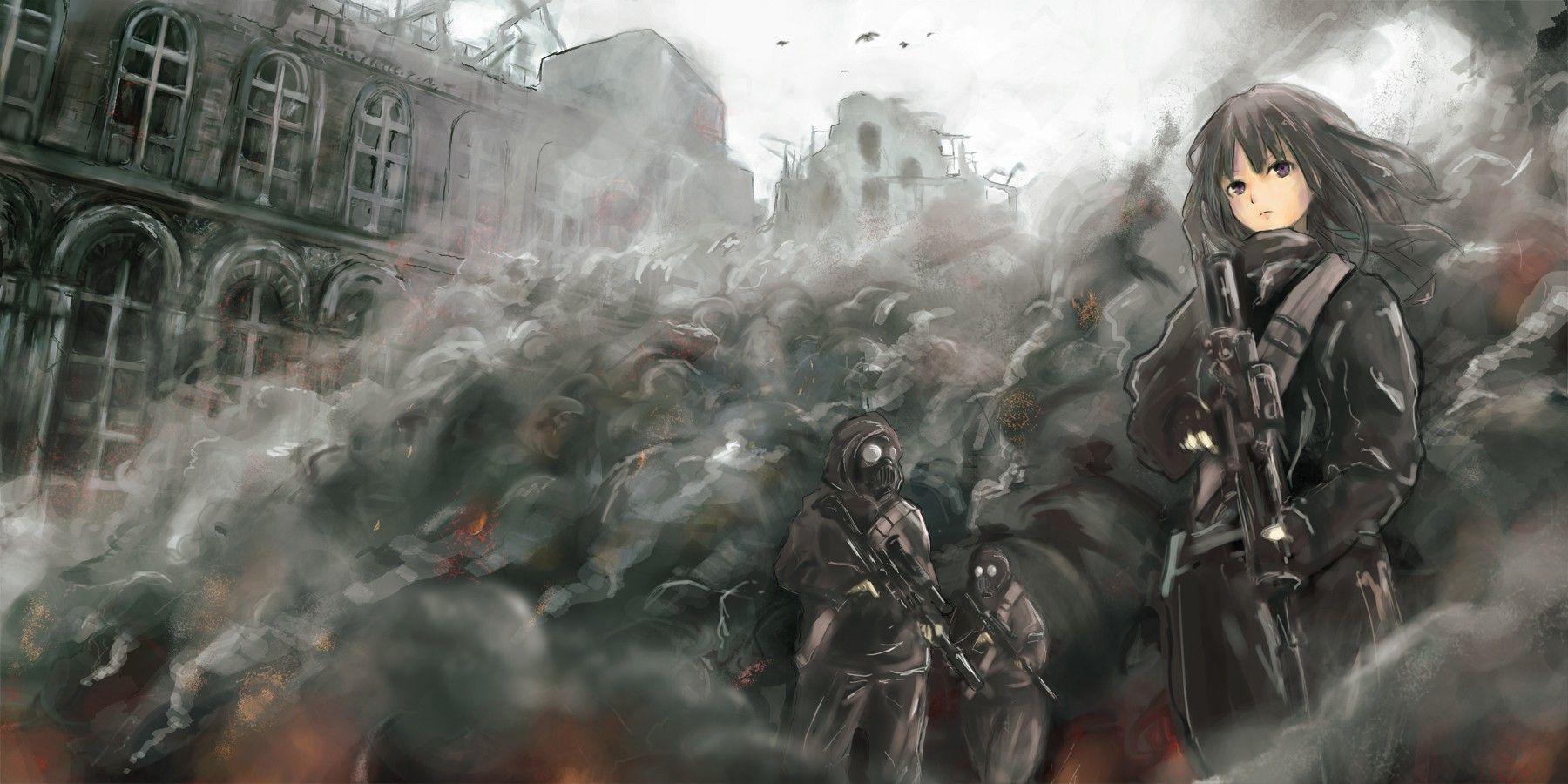 【空前のPUBGブーム】銃を持った女兵士・軍人さんの二次エロ画像【14】