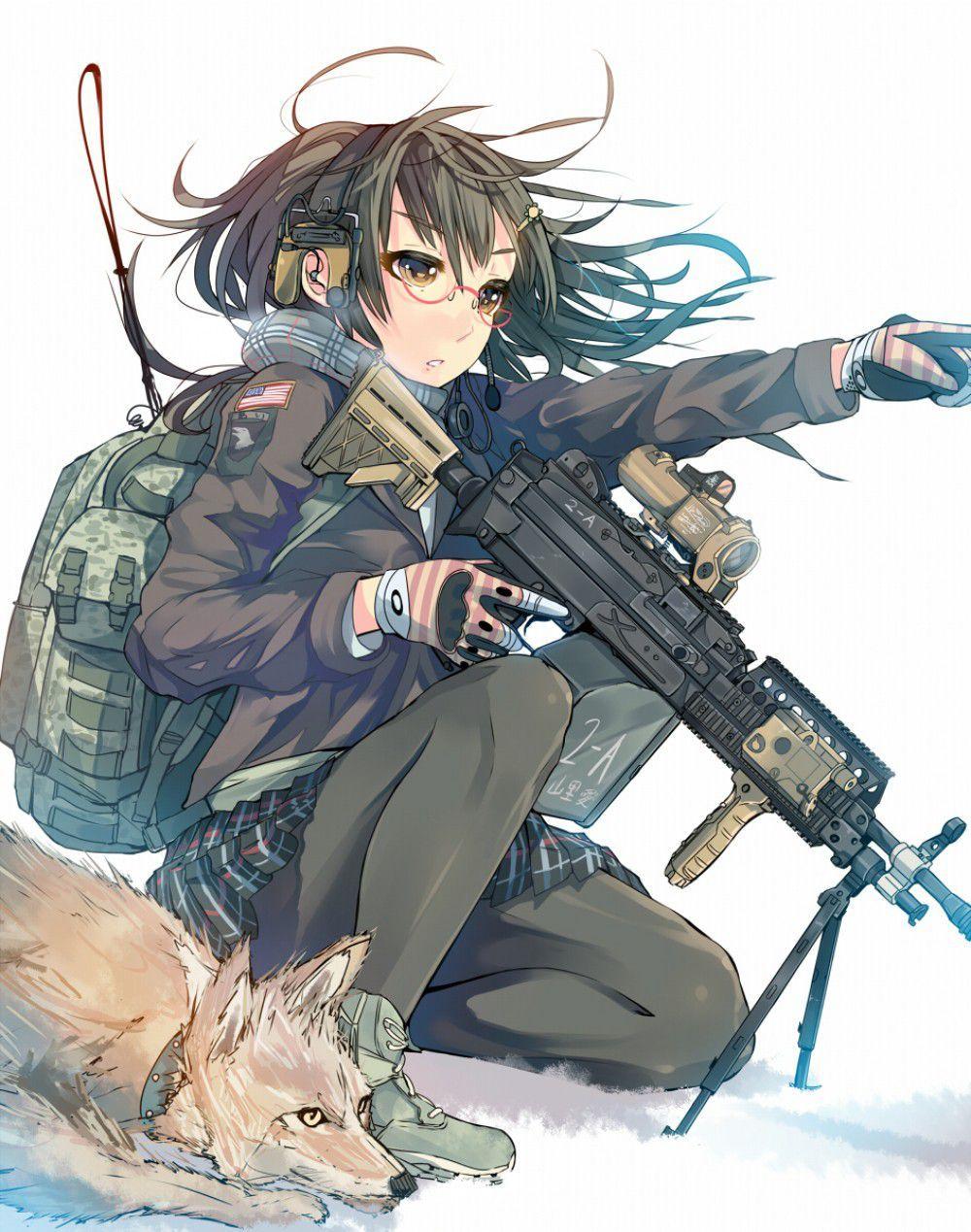 【空前のPUBGブーム】銃を持った女兵士・軍人さんの二次エロ画像【23】